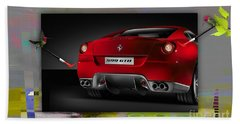Ferrari Touch Up Beach Towel