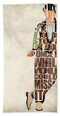 Ferris Bueller's Day Off Beach Sheet by Ayse Deniz