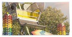 Ferris Wheel Bucket Beach Towel