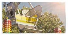 Ferris Wheel Bucket Beach Sheet