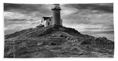 Ferryland Lighthouse Beach Sheet by Eunice Gibb