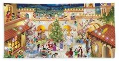 Festival Espanol De Navidad Beach Sheet