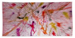 Festival Of Colours Beach Towel by Sonali Gangane