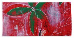 Festive Garden 3 Beach Towel by Jocelyn Friis
