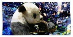 Festive Panda Beach Sheet