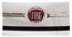 Fiat Logo Beach Towel