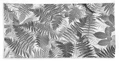 Fiddlehead Ferns Beach Towel