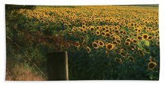 Field Dreams No.2 Beach Towel