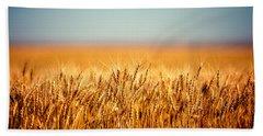 Field Of Wheat Beach Sheet