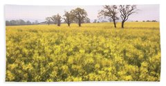 Fields Of Yellow Beach Towel