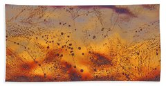 Fiery Horizon Beach Towel