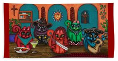 Fiesta Cats II Beach Sheet