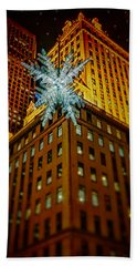Beach Sheet featuring the photograph Fifth Avenue Holiday Star by Chris Lord