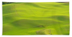 Fileds Of The Palouse Beach Towel