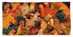 Fine Fowl Beach Towel
