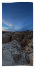 Fire Canyon Afterglow Beach Towel