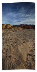 Fire Canyon I Beach Towel