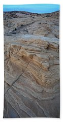 Fire Canyon Layers Beach Towel