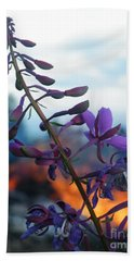 Fireweed Number Five Beach Towel by Brian Boyle