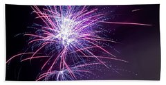 Fireworks - Purple Haze Beach Sheet