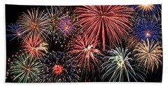 Fireworks Spectacular IIi Beach Towel