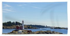 Fisgard Lighthouse Beach Towel