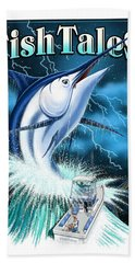 Fish Tales Beach Towel