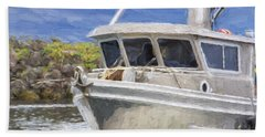 Fisherman's Prayer - West Coast Art Beach Towel
