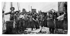 Fishermen 1888 Puget Sound - Washington Beach Towel
