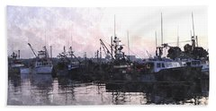 Fishing Fleet Ffwc Beach Sheet by Jim Brage
