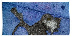 Fishing In The Cement Pond Beach Towel