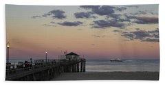 Ocean Grove Nj Fishing Pier Beach Towel