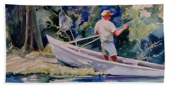 Fishing Spruce Creek Beach Towel