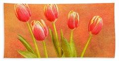 Five Tulips Beach Sheet