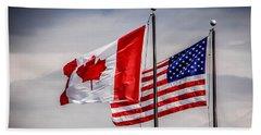 Flag Duo Beach Sheet