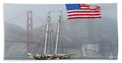 Flag Ship Beach Towel