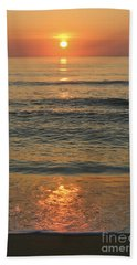Flagler Beach Sunrise Beach Towel