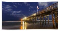 Flagler Pier Beach Towel