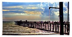 Flagler Pier Heaven Beach Towel