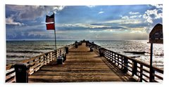 Flagler Pier Beach Towel