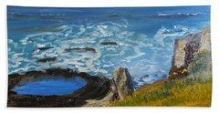 Flagstaff Point  Beach Towel