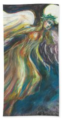 Flame Beach Sheet by Melinda Dare Benfield