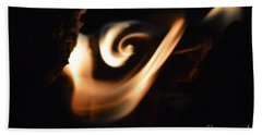 Beach Towel featuring the photograph Flame Thrower by Brian Boyle