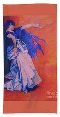 Flamenco-john Singer-sargent Beach Towel