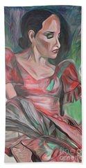 Flamenco Solo Beach Towel