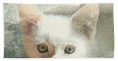 Flamepoint Siamese Kitten Beach Towel