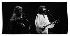 Fleetwood Mac In Amsterdam 1977 Beach Towel