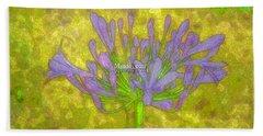 Fleur De Lis Beach Sheet