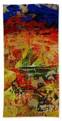 Free Bird Beach Towel by Jean Cormier