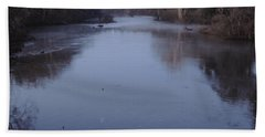 Beach Towel featuring the photograph Flint River 1 by Kim Pate